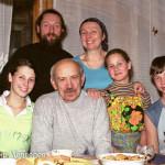 Майборода Л.А. в семье священника в г. Лесосибирск