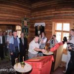 РАСПУТИН, ДРОЗДОВ, МАЙБОРОДА  в церкви п.Овсянка